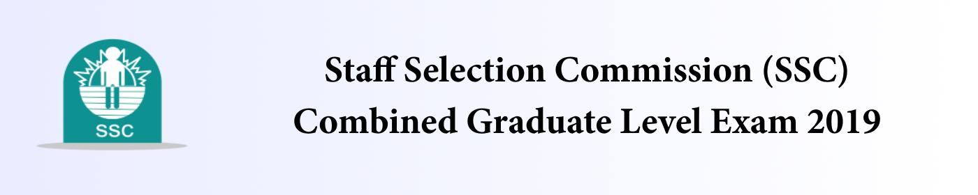 SSC exam 2019