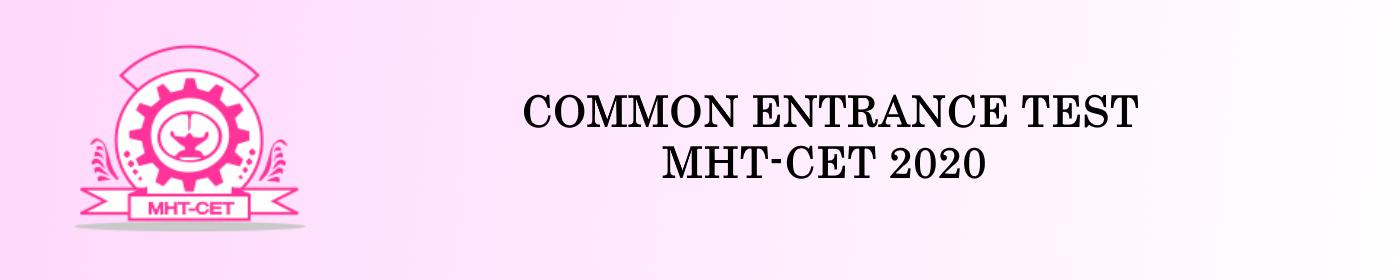 COMMON ENTRANCE TEST MHT-CET 2020 | PREXAM