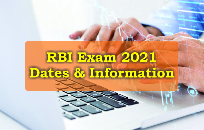 RBI exam dates 2021